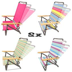 1-Pair Outdoor Garden Patio Sport Hiking Camping Beach Chair