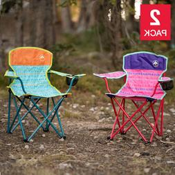 2 Pack, Coleman Kids Quad Chair , Camping, BBQs, and Beach G