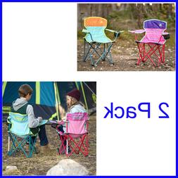 2 Pack, Coleman Kids Quad Chair , Camping, BBQs, and Beach