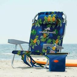 Tommy Bahama 2016 Backpack Cooler Beach Chair Orange with St