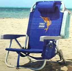 Tommy Bahama 2016 Backpack Cooler Chair with Storage Pouch a