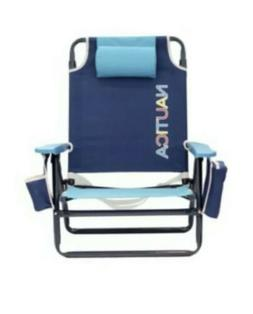 Nautica 2016 Beach Chair Lime Rainbow NEW FREE SHIPPING 48 S