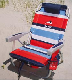 2019 Bahamas Backpack Cooler Chair with Storage Pouch and To