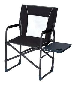 GCI Outdoor 36510 Director Folding Chair, Steel, Black