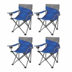 4) Coleman Camping Outdoor Beach Folding Big-N-Tall Oversize