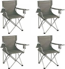 4 Heavy Duty Folding Camp Chair Outdoor Portable Seat Campin