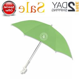 48 Inch Clamp on Beach Chair Umbrella with UV Protection Pol