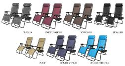 7 Colors Zero Gravity Chairs Case Of 2 Lounge Patio Chairs O
