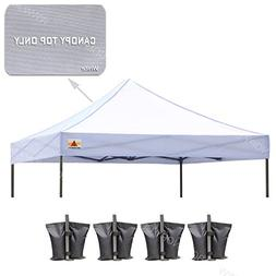 ABCCANOPY Replacement Top Cover 100% Waterproof  Pop Up Cano
