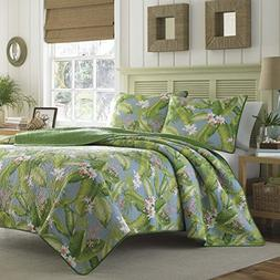 Tommy Bahama Aregada Dock Quilt Set, King, Sky