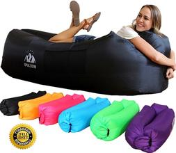 Air Lounge Chair for Adults Beach Hammock Inflatable Large f