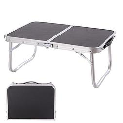 CampLand Aluminum Folding Table Outdoor Lightweight Portable
