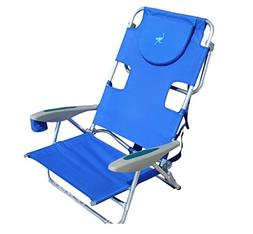 On Your Back Backpack Reclining Beach Chair, Portable Camp C