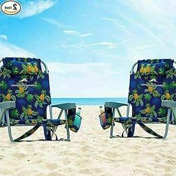 beach chair folding backpack deck chair pineapple