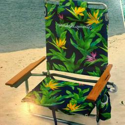 Tommy Bahama Backpack Beach Chair Insulated Beverage Holder