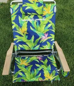 Tommy Bahama Backpack Beach Chair Pair NEW