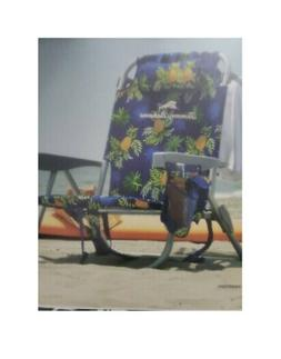 Tommy Bahama Backpack Beach Cooler Folding Chair w/ Pouch &