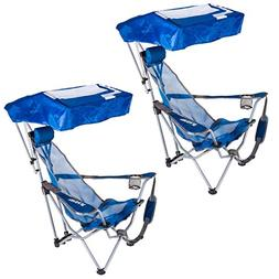Kelsyus Backpack Beach Portable Camping Folding Lawn Chair w