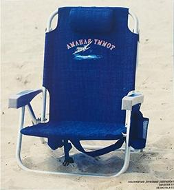 Tommy Bahama Backpack Chair, Dark Blue