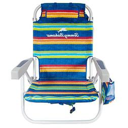 Tommy Bahama Backpack Cooler Beach Chairs - Multi Stripes