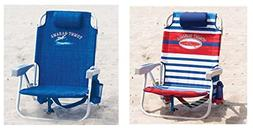 2 Tommy Bahama 2016 Backpack Cooler Beach Chair with Storage