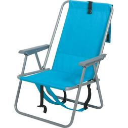 Backpack Fold Beach Chair wIth adjustable shoulder straps  &