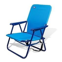 "copa Backpack Folding Steel Chair 10"" Height Seat Ideal for"