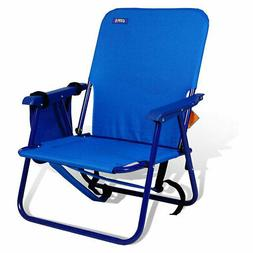 Copa Backpack Single Position Folding Aluminum Beach Lounge