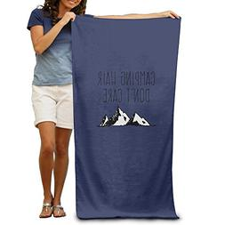 Sakanpo Bath Towel - Camping Hair Don't Care Soft Large Swim