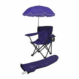 Beach Baby Kids Folding Camp Chair Umbrella with Matching Dr