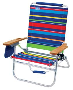 Rio Beach Beach Bum Beach Chair, Bright Stripe