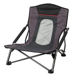 PORTAL Low Beach Camp Chair Folding Compact Picnic Concert F