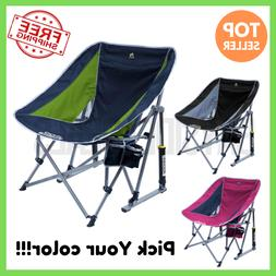 GCI Outdoor Beach Camping Pod Rocker Collapsible Rocking Cha