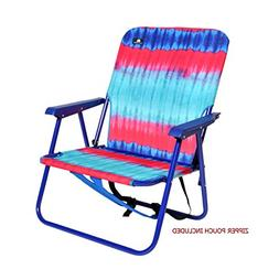 Beach/Camping Steel Backpack Folding Chair
