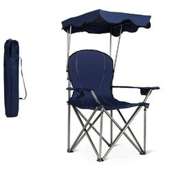 Beach Chair Lightweight Folding Chairs Camping Portable Carr