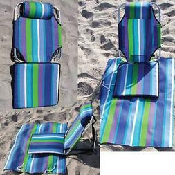 Beach Chair Portable Lightweight Backpack Hiking Camping 1.5