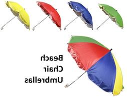 Beach Chair Umbrella Parasol Tilting Umbrella For Beach Chai