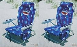 Tommy Bahama Beach Chairs Backpack with Cooler Storage Pouch