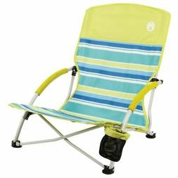 Coleman Beach Deluxe Low Sling Chair Citrus #2000019265