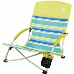 Coleman Beach Deluxe Low Sling Chair Citrus 2000019265