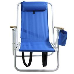 Zippem Beach Face Opening Sunbed High Seat Beach Chair & Lou