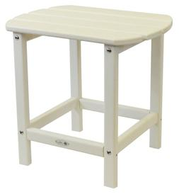 Atlas - Beach Haven Poly End Table - Color: White