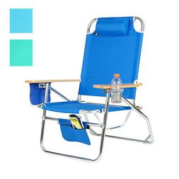 Big Jumbo Heavy Duty 500 lbs XL Aluminum Beach Chair for Big