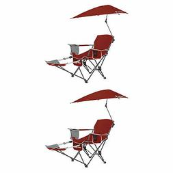 Sport Brella Portable Sun Shelter Umbrella Recliner Folding