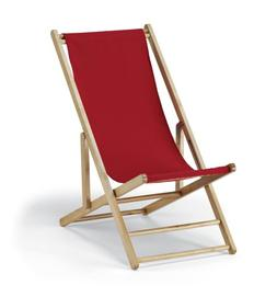 Telescope Casual Cabana Beach Folding Chair, China Red