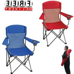 Camping Chair Hiking Beach Mesh Folding Outdoor Portable Bac