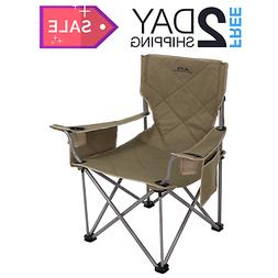 Camping Folding Chair With Cup Holder Outdoor Picnic Beach S