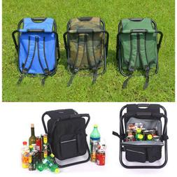 Camping Hiking Equipment Backpack Folding Beach Chair Cooler