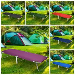 Camping Patio Portable Sleeping Folding Bed Cots Beach Pool