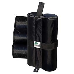 Eurmax 60 lbs/pc Deluxe Canopy Tent Weights Sand Bag Leg Wei